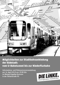 �ffentlicher Personennahverkehr in der S�dstadt