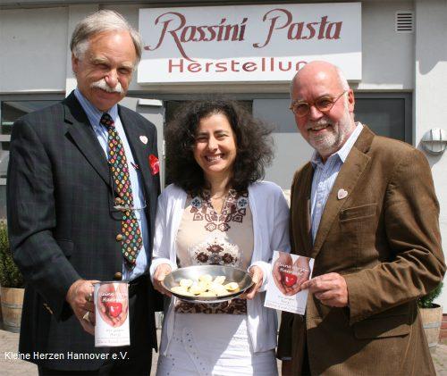 ROSSINI spendet für Kleine Herzen Hannover