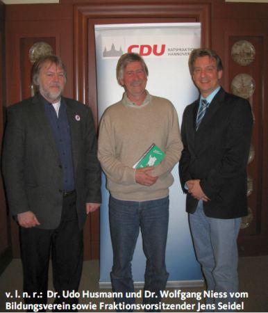 Bildungsverein zu Gast bei der CDU-Ratsfraktion