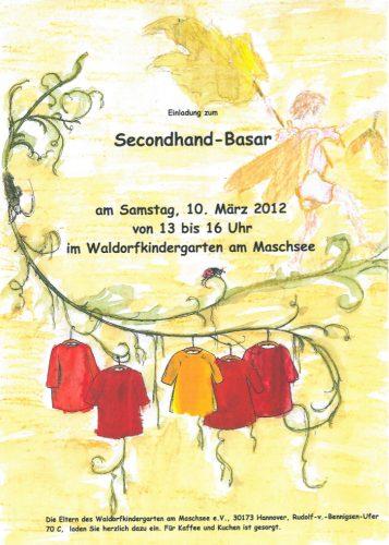 Secondhand-Basar im Waldorfkindergarten am Maschsee