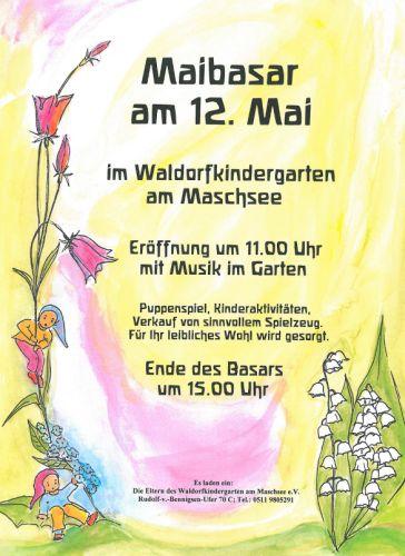19. Mai-Basar im Waldorfkindergarten am Maschsee