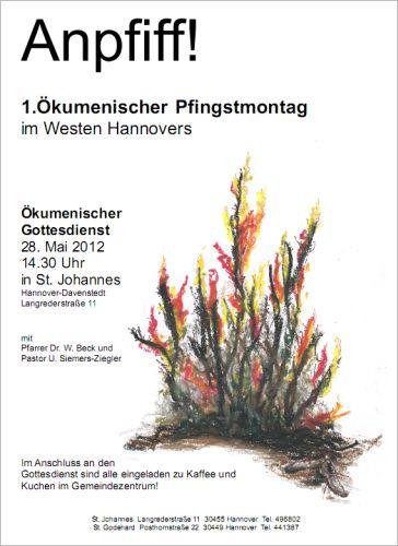 Erster Ökumenischer Pfingstmontag 2012: Anpfiff!