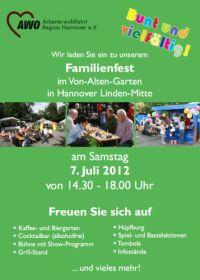 Gro�es Familienfest im Von-Alten-Garten