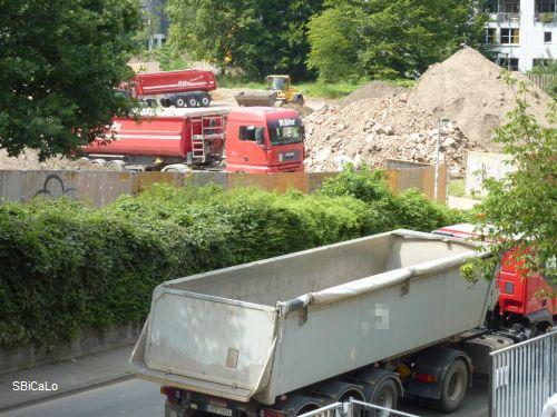SBiCaLo: Abgrabungsarbeiten sind Zumutung für die Anlieger