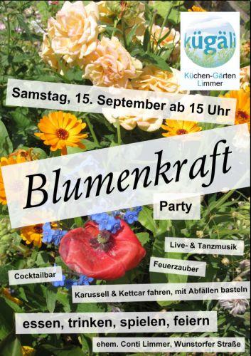 Sommerparty der Küchengärten Limmer - Blumenkraft