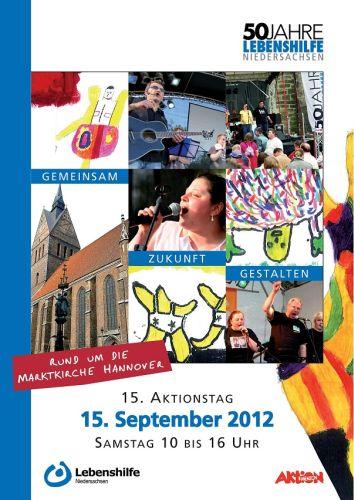 15. Aktionstag der Lebenshilfe Niedersachsen (Plakat)