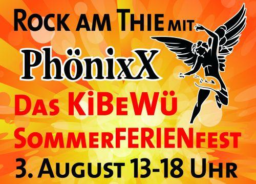Rock am Thie: PhönixX rockt das SommerFERIENfest am Kronsberg