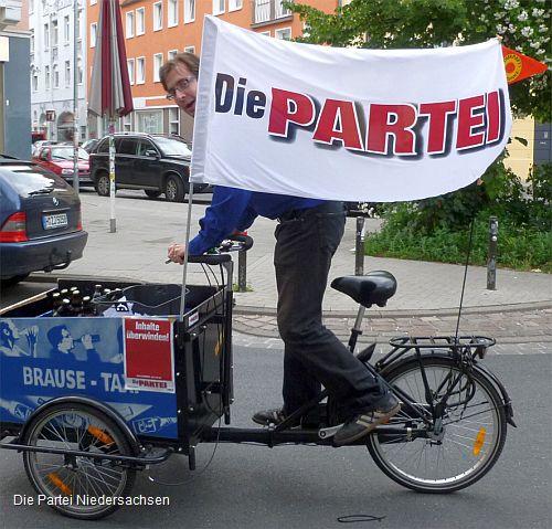 Kandidat Marc Oliver Schrank mobil