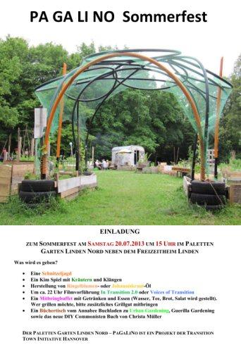 Einladung zum Sommerfest im PaGaLiNo