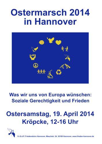 Ostermarsch in Hannover