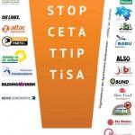 Gemeinsam haben wir die Chance, TTIP, CETA & TiSA zu stoppen!