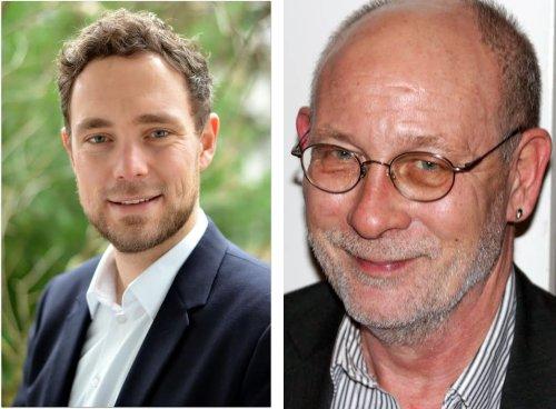 Christopher Finck (l.) wurde für Platz 1 der SPD-Stadtratsliste List nominiert und Ratsherr Bruno Gill (r.) kandidiert auf Platz 1 der SPD-Stadtratsliste Vahrenwald