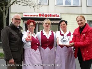 Fleischerei B�geholz unterst�tzt Kleine Herzen Hannover