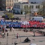 Pulse of Europe Hannover - 400 Menschen senden Liebesgrüße an Frankreich
