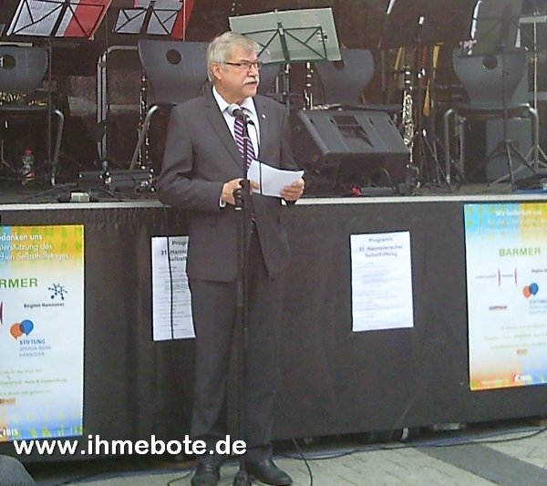 Bürgermeister Klaus Dieter Scholz