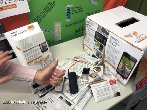 Handys recyceln – Gutes tun