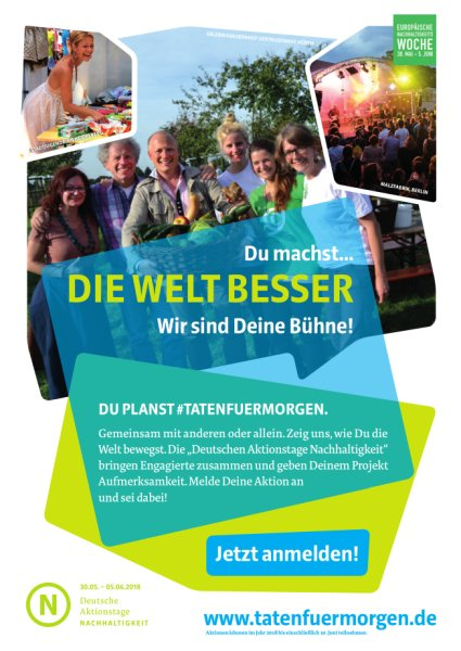 Deutsche Aktionstage Nachhaltigkeit - Dirk Toepffer, MdL und CDU Ortsverbände sind dabei!