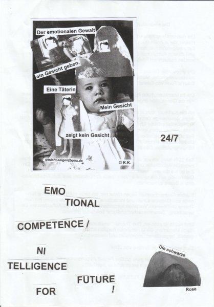Die emotionale Gewalt - ein erlaubter Missbrauch!?
