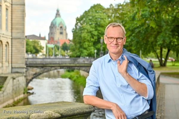 Eckhard Scholz: Meine Partei heißt Hannover! (Foto: Henning Scheffen)